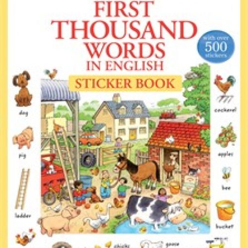 first-thousand-words-english-sticker-book