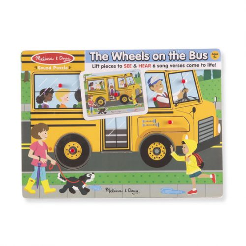 wheels on the bus sound 1